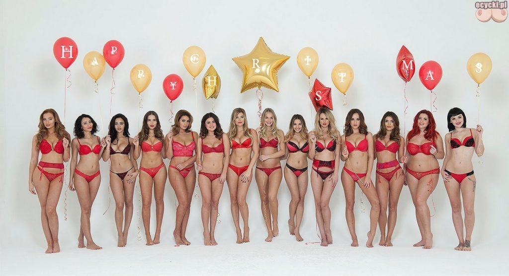 01. seksowne modelki w bieliznie czerwona bielizna czerwony stanik i majtki cycate dziewczyny laski na nowy rok happy new year hot sexy girls in red lingerie 1024x556 - Nagie cycki szczęśliwego Nowego Roku 2016!