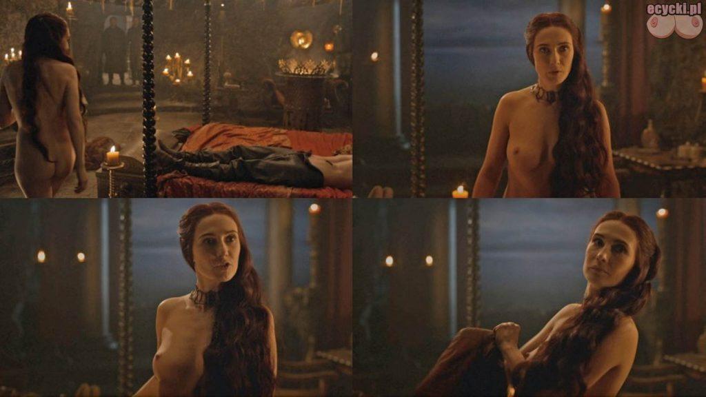 02. Carice van Houten jako Melisandre nagie piersi pokazuje cycki nago boobs tits nude breast game of thrones 1024x576 - Gra o Tron – nagie sceny z cyckami w roli głównej: