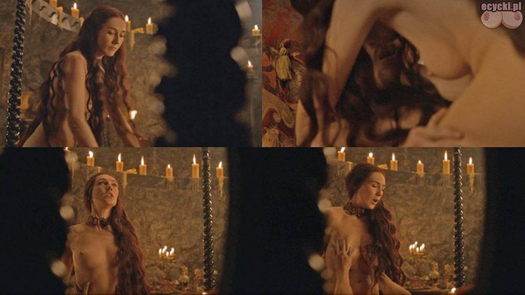 03. Carice van Houten jako Melisandre nagie piersi pokazuje cycki nago boobs tits nude breast game of thrones 1024x576 - Gra o Tron – nagie sceny z cyckami w roli głównej:
