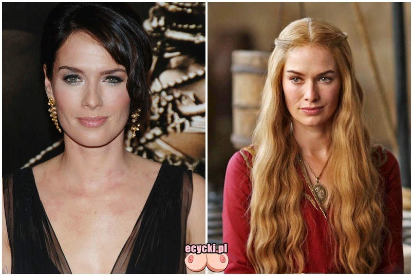 Lena Headey Cersei Lannister gra o tron game of thrones zdjecia aktorka slynnego serialu HBO - Gra o Tron – nagie sceny z cyckami w roli głównej: