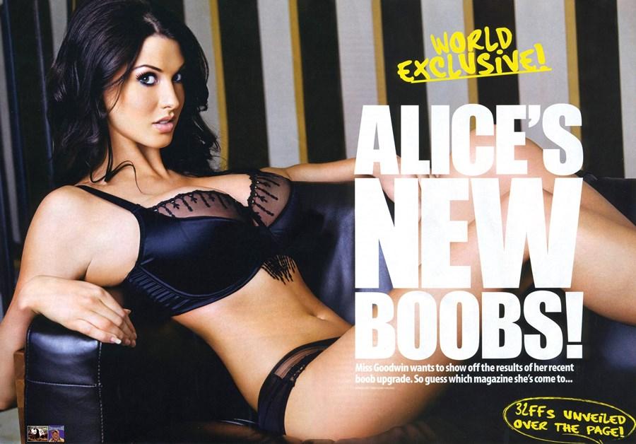 00. Alice Goodwin boobs upgrade new tits size G nowe cycki modelka powiększyła piersi powiększanie biustu - Alice Goodwin znowu powiększyła cycki całość w sexy sesji: