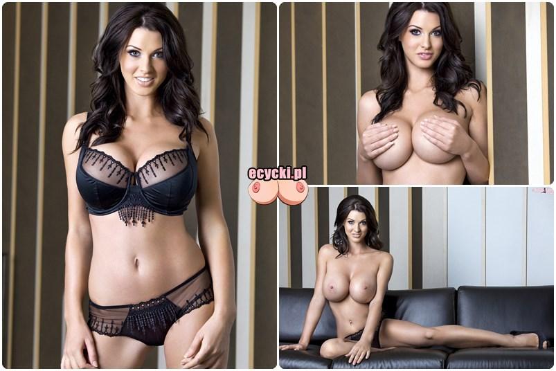Alice Goodwin goraca super laska piekna cycata dziewczyna duze nagie cycki galeria zdjec hot girl big tits nude boobs naked black lingerie gallery pics - Alice Goodwin znowu powiększyła cycki całość w sexy sesji: