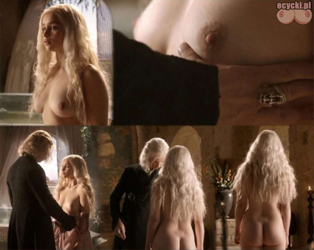 2. gra o tron emilia clarke nago nagie piersi cycki daenerys targaryen boobs nude tits breast 1024x814 - Gra o Tron – nagie sceny z cyckami w roli głównej: