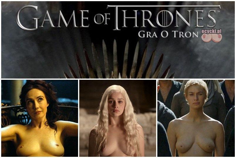 Gra o tron sezon 6 nagie cycki nagie zdjecia aktorki nago game of thrones nude Emilia Clarke Lena Headey Carice van Houten boobs breast tits naked - Gra o Tron – nagie sceny z cyckami w roli głównej: