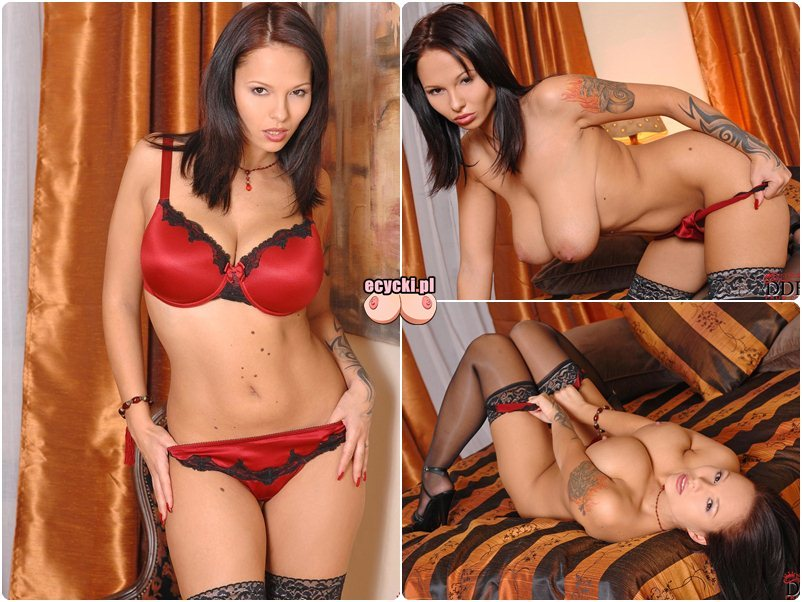 Dominno - gwiazdy porno nago - sexy galerie - nagie zdjecia - cycata laska brunetka - wielkie naturalne gole cycki - erotyka - ecycki