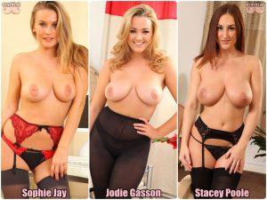 Najlepsze cycki miesiaca maj gloswoanie - 3 cycte laski topless - Sophie Jay - Jodie Gasson - Stacey Poole - ecycki