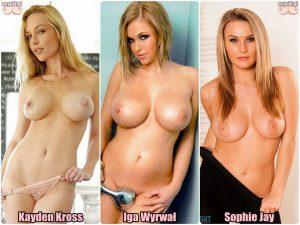 cycki miesiaca glosowanie - 3 piekne modelki topless - trzy sliczne dziewczyny z ponetnymi piersiami - gorace zmyslowe laski - ecycki