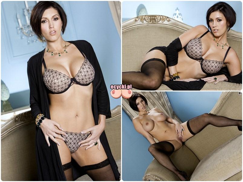 Dylan Ryder sexy gwiazda porno striptiz - goraca brunetka seksi bielizna ponczochy duze piersi i zgrabn pupa - galeria erotyczne - ecycki blog